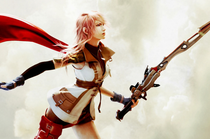 lightning final fantasy xiii wallpaper for android iphone