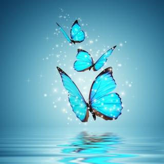 Glistening Magic Butterflies - Obrázkek zdarma pro iPad mini 2