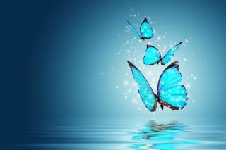 Glistening Magic Butterflies - Obrázkek zdarma pro HTC Wildfire