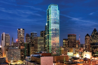 Dallas Skyline Background for Android, iPhone and iPad