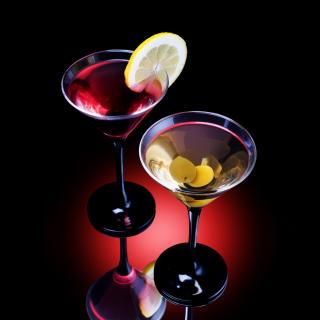 Cocktail With Olives - Obrázkek zdarma pro iPad Air