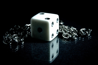 Free Dice And Metal Chain Picture for Android, iPhone and iPad