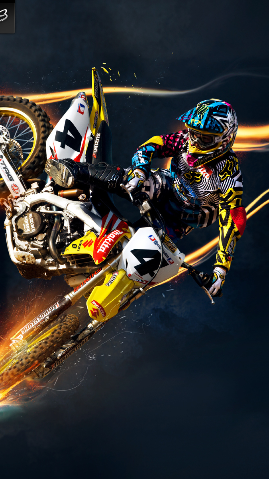 Freestyle Motocross Wallpaper for iPhone 6 Plus