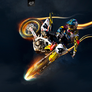 Freestyle Motocross - Obrázkek zdarma pro iPad Air