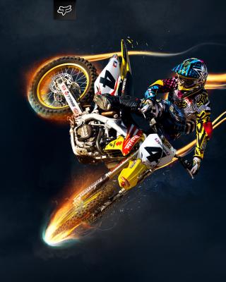 Freestyle Motocross - Obrázkek zdarma pro 360x400