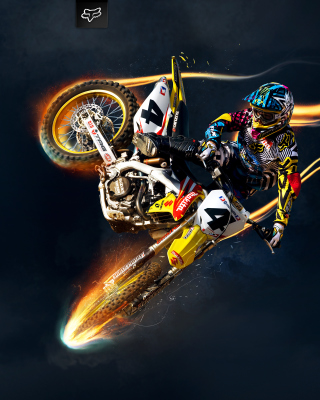 Freestyle Motocross - Obrázkek zdarma pro Nokia 5800 XpressMusic