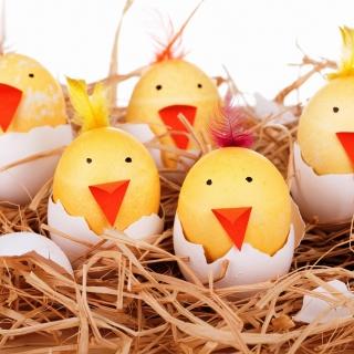 Smile Easter Eggs - Obrázkek zdarma pro iPad
