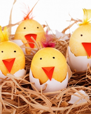 Smile Easter Eggs - Obrázkek zdarma pro Nokia C2-01