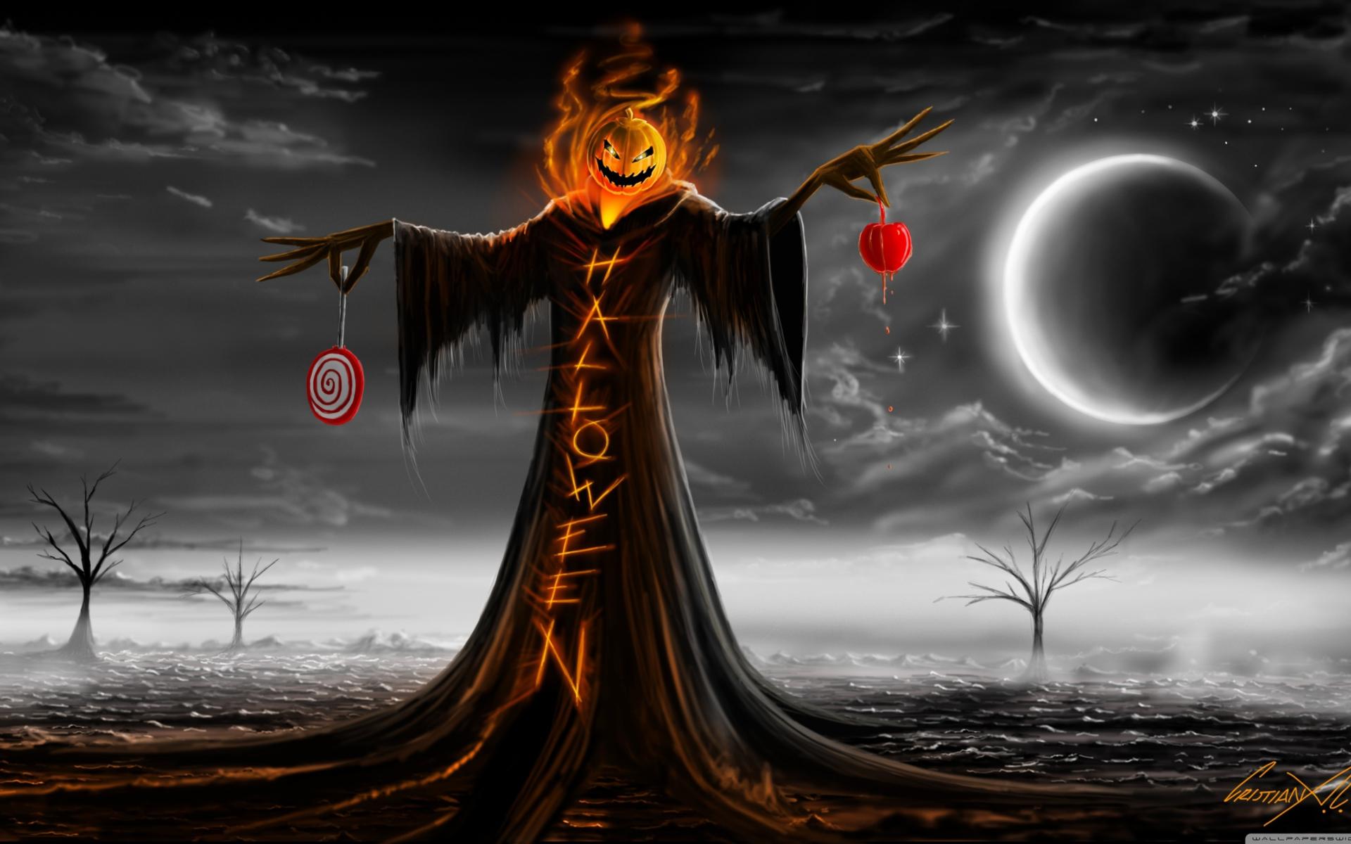 Halloween fondos de pantalla gratis para widescreen for Fondos de escritorio full hd
