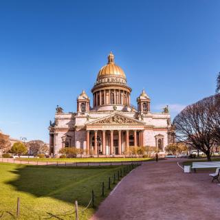 Wallpaper St Isaacs Cathedral, St Petersburg, Russia - Obrázkek zdarma pro iPad Air