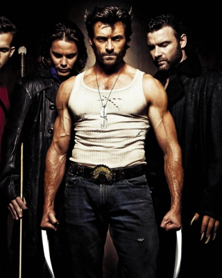 Wolverine - Obrázkek zdarma pro 480x800