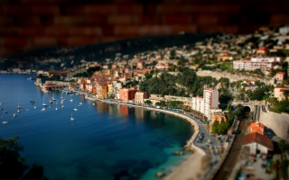 Monaco Panorama Wallpaper for Android, iPhone and iPad