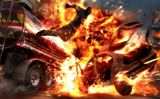 Free Car Crash Explosion Picture for Android, iPhone and iPad
