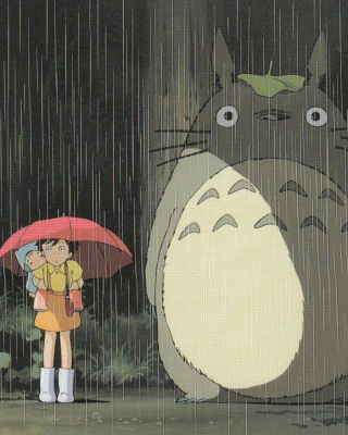 My Neighbor Totoro Japanese animated fantasy film - Obrázkek zdarma pro iPhone 4