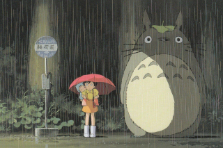 My Neighbor Totoro Japanese animated fantasy film - Obrázkek zdarma pro HTC Hero