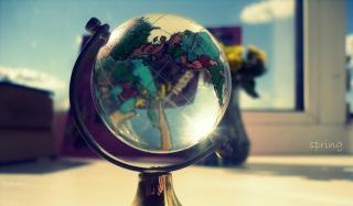 Across The Globe - Obrázkek zdarma pro Sony Xperia M