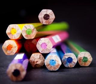 Bright Colorful Pencils - Obrázkek zdarma pro iPad mini 2