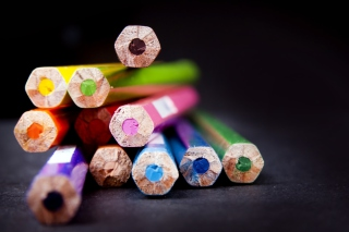 Bright Colorful Pencils - Obrázkek zdarma pro Widescreen Desktop PC 1600x900
