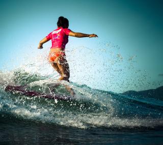 Colorful Surfing - Obrázkek zdarma pro iPad 2
