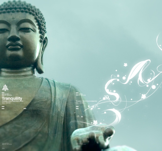 Abstract Buddha - Obrázkek zdarma pro iPad mini