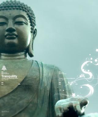 Abstract Buddha - Obrázkek zdarma pro Nokia X1-01