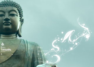 Abstract Buddha - Obrázkek zdarma pro Samsung Galaxy S4