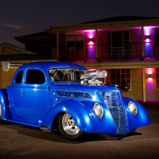 Ford Hot Rod - Obrázkek zdarma pro 208x208