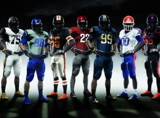 American Football - Obrázkek zdarma pro Nokia Asha 201