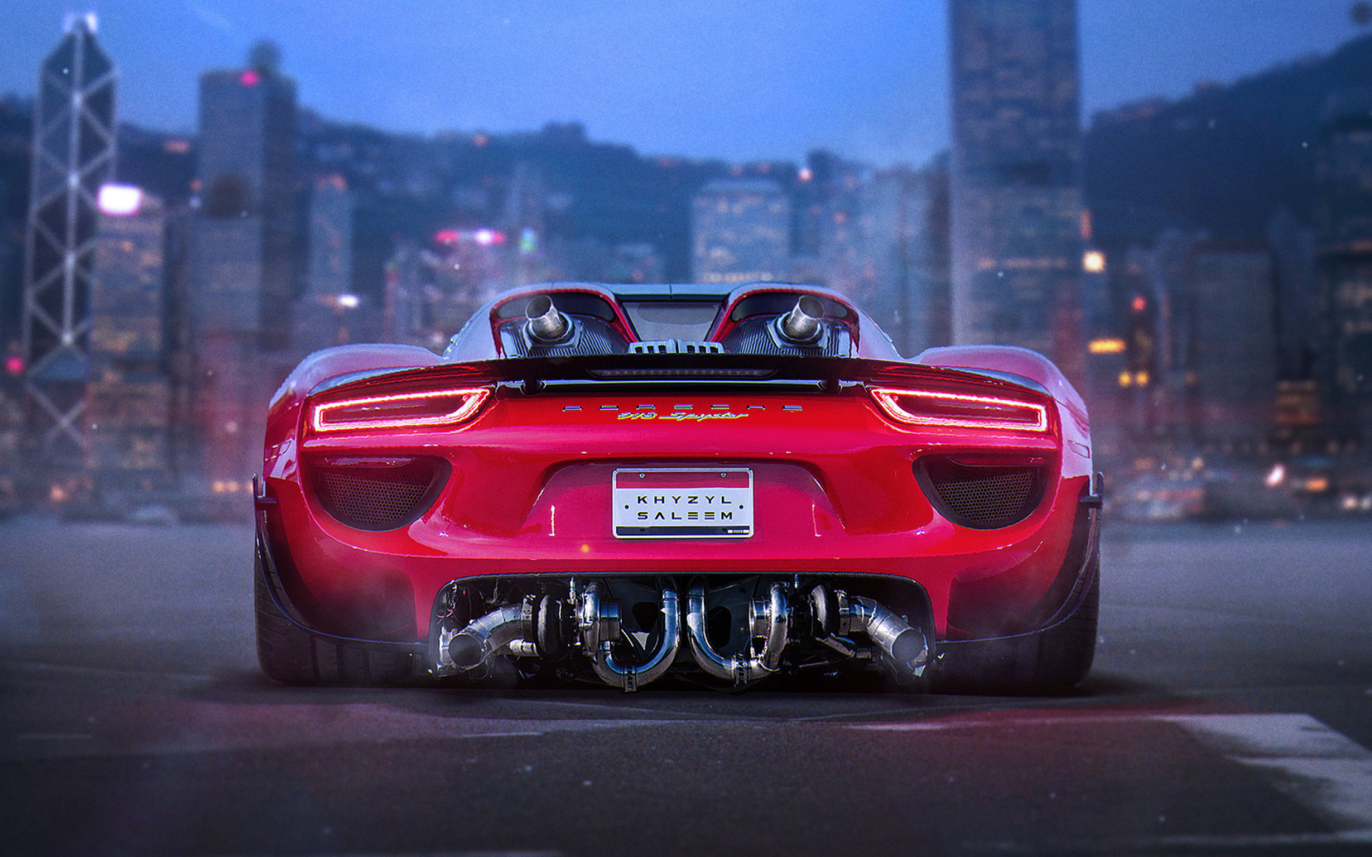 porsche 918 spyder red wallpaper for 1920x1200. Black Bedroom Furniture Sets. Home Design Ideas