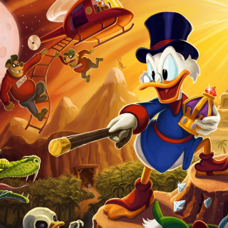 DuckTales, Scrooge McDuck - Obrázkek zdarma pro 1024x1024
