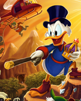 DuckTales, Scrooge McDuck - Obrázkek zdarma pro 128x160