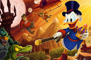 DuckTales, Scrooge McDuck - Obrázkek zdarma pro Samsung Galaxy