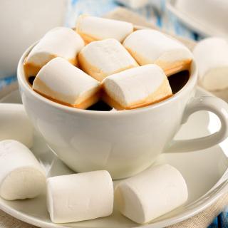 Marshmallow and Coffee - Obrázkek zdarma pro 128x128