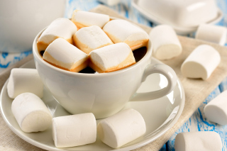 Marshmallow and Coffee - Obrázkek zdarma pro Android 1200x1024