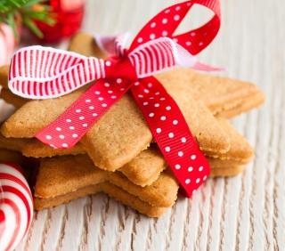 Ginger Bread Star Cookies - Obrázkek zdarma pro iPad mini