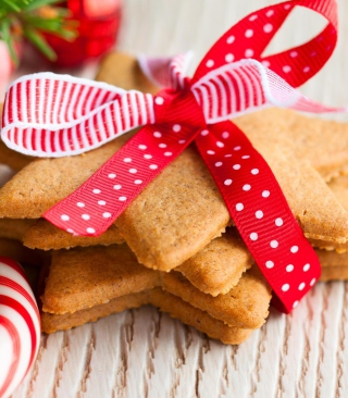 Ginger Bread Star Cookies - Obrázkek zdarma pro 480x854