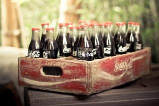 Vintage Coca-Cola Bottles - Obrázkek zdarma pro 1920x1408