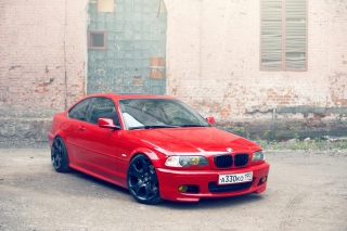 BMW E46 Stance Wallpaper for Android, iPhone and iPad