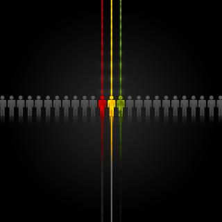 Rasta Abstract - Obrázkek zdarma pro iPad mini 2