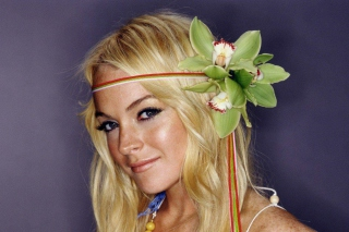 Free Cute Lindsay Lohan Picture for Android, iPhone and iPad