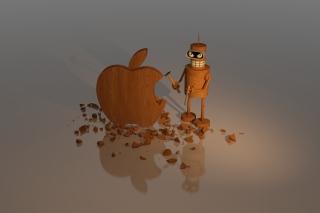 Bender Against Apple - Obrázkek zdarma pro 960x854