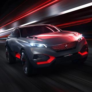 Peugeot Quartz Concept - Obrázkek zdarma pro iPad