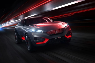 Peugeot Quartz Concept Background for Android, iPhone and iPad