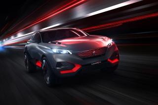 Peugeot Quartz Concept - Obrázkek zdarma pro Desktop 1280x720 HDTV
