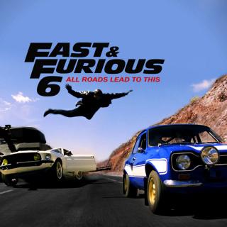 Fast and furious 6 Trailer - Obrázkek zdarma pro iPad Air