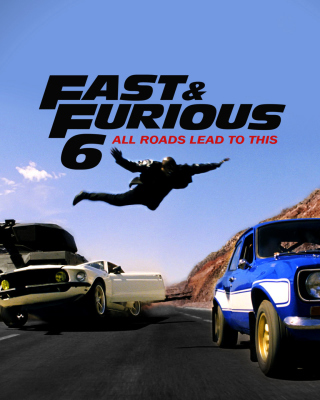 Fast and furious 6 Trailer - Obrázkek zdarma pro iPhone 6 Plus