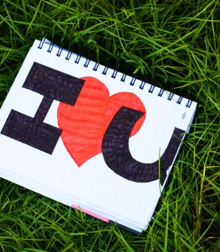 I Love You - Obrázkek zdarma pro 480x854