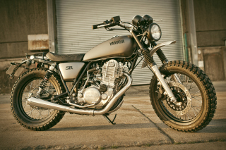 Yard Built SR400 Wallpaper for Android, iPhone and iPad