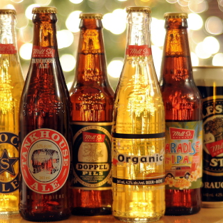 Beer Bottles - Obrázkek zdarma pro iPad