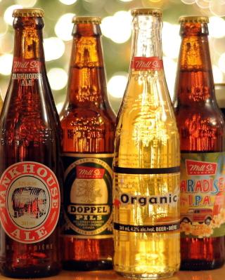 Beer Bottles - Obrázkek zdarma pro 128x160